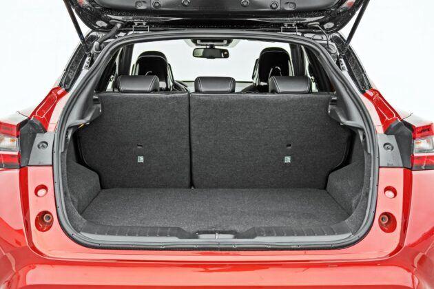 Nissan Juke - bagażnik