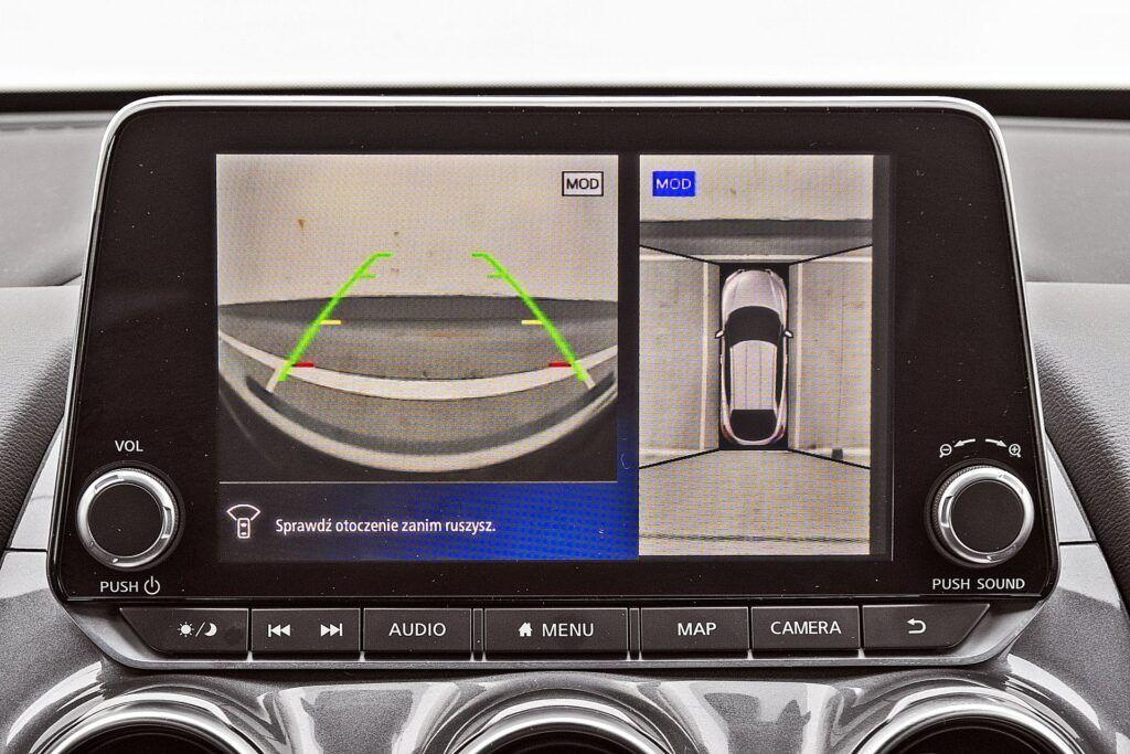 Nissan Juke - system kamer 360