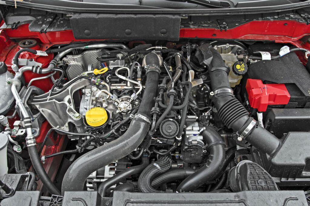 Nissan Juke - silnik