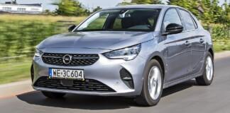 Opel Corsa F - przód