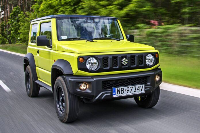 Suzuki Jimny - przód