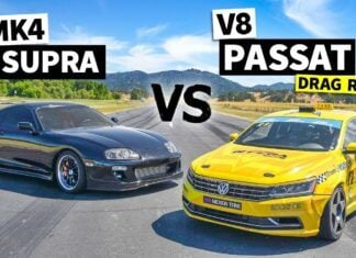 1000-konna Toyota Supra kontra... Volkswagen Passat. Kto wygra?
