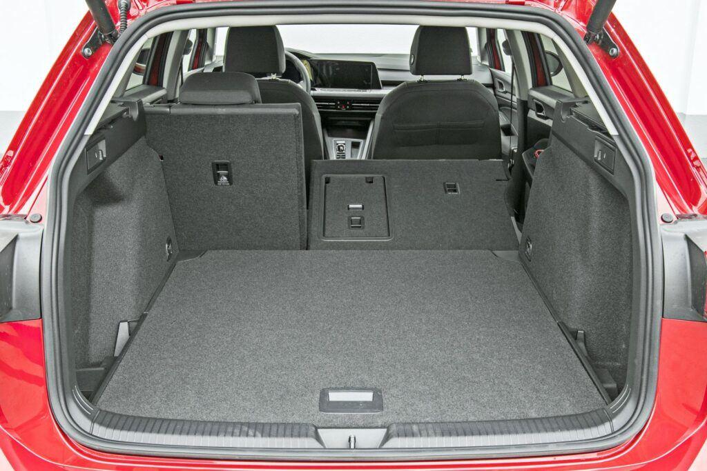 VW Golf Variant - bagażnik