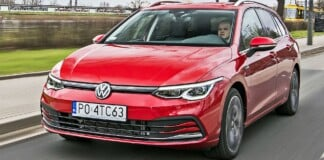VW Golf Variant - przód