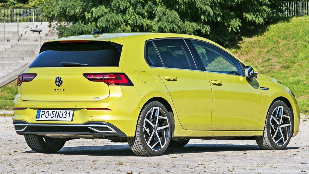 VW Golf Variant - tył