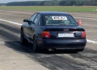 Stare Audi A4 B5 szybsze od Lamborghini! 0-100 km/h w 2,6 s!
