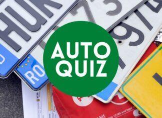 AUTO-QUIZ [6] Quiz wiedzy motoryzacyjnej. Tablice rejestracyjne
