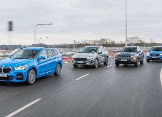 BMW X1 xDrive25e, Ford Kuga 2.5 Plug-In Hybrid, Jeep Compass PHEV, Volvo XC40 Recharge - PORÓWNANIE