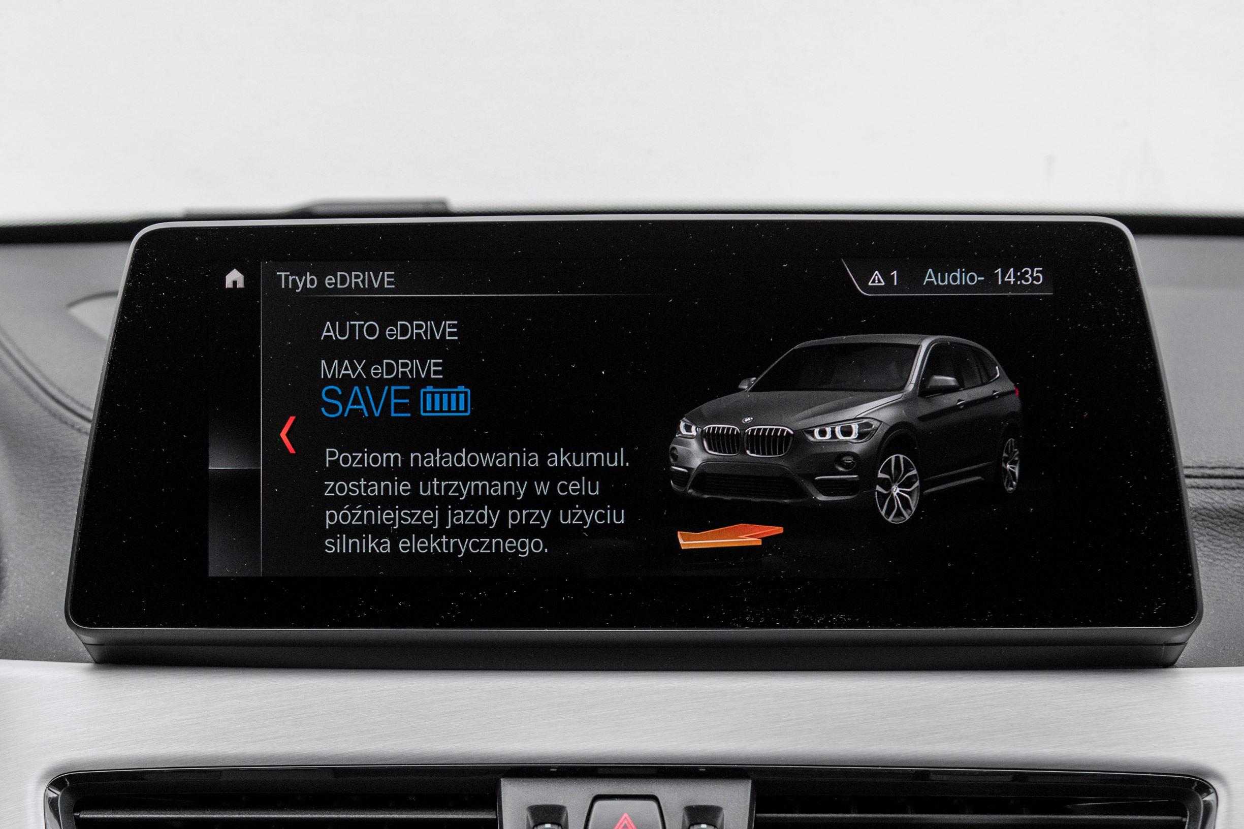 BMW X1 - ekran