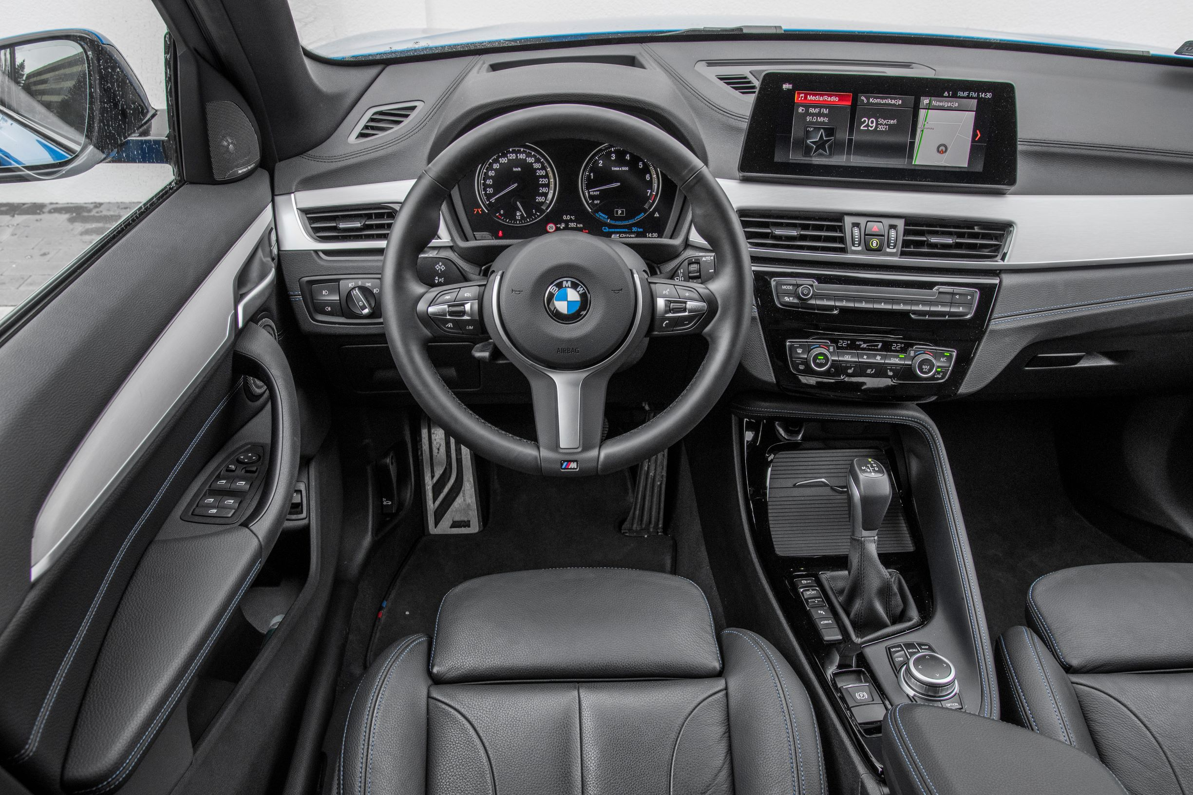 BMW X1 - kokpit