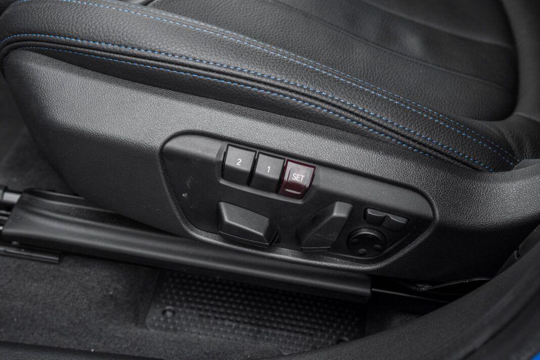 BMW X1 - sterowanie fotela