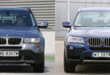BMW X3 (E83) i BMW X3 (F25)
