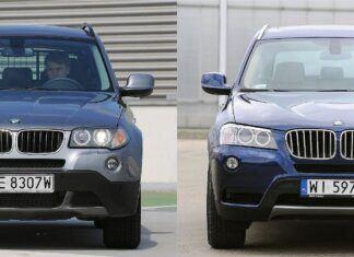 Używane BMW X3 I (E83) i BMW X3 II (F25) - którą generację wybrać?
