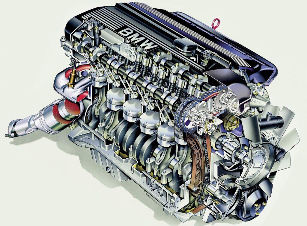 BMW - silnik M52