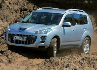Używany Citroen C-Crosser/Peugeot 4007 (2007-2012) - opinie, dane techniczne, usterki