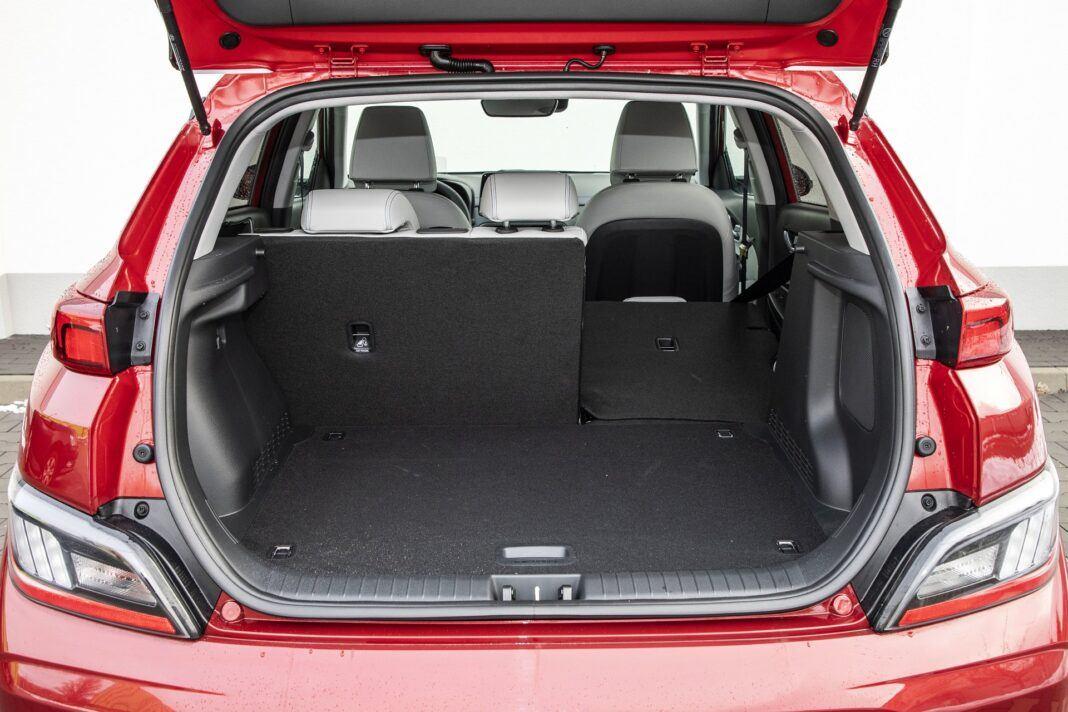 Hyundai Kona Electric - test (2021) - bagażnik