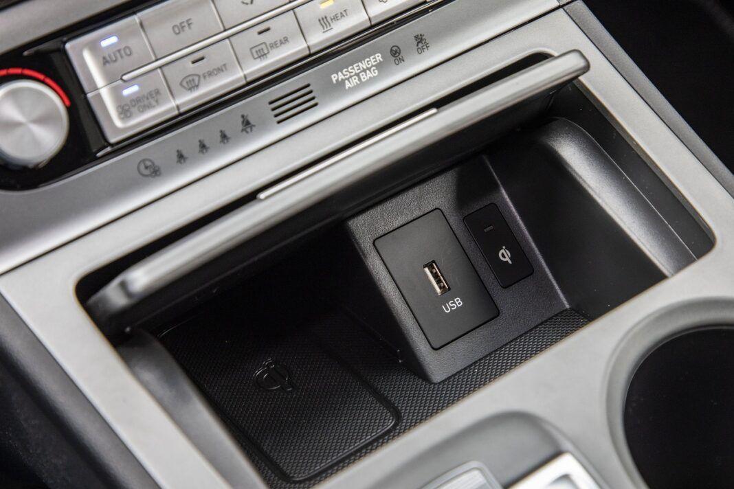 Hyundai Kona Electric - test (2021) - ładowarka indukcyjna