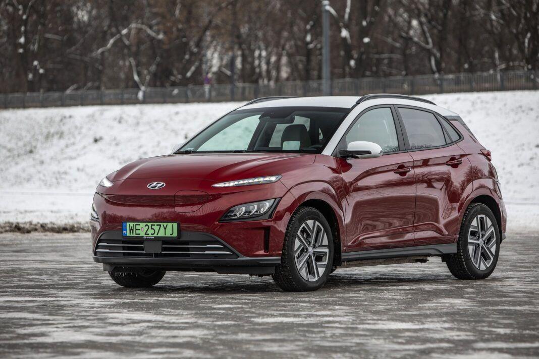 Hyundai Kona Electric - test (2021) - przód