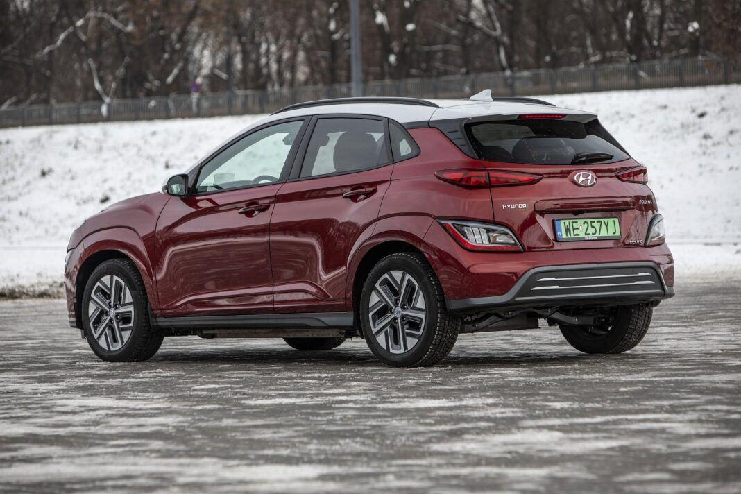 Hyundai Kona Electric - test (2021) - tył