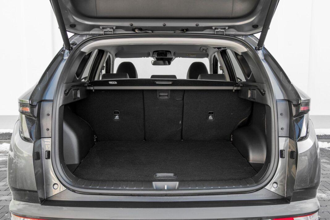Hyundai Tucson 1.6 T-GDI HEV - bagażnik