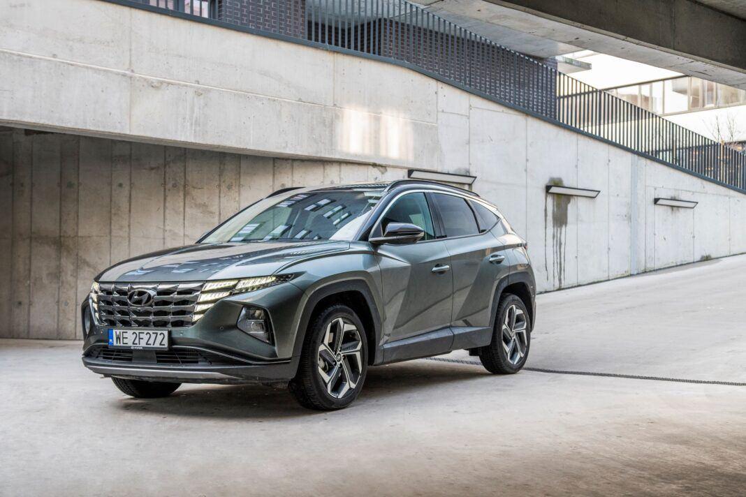 Hyundai Tucson 1.6 T-GDI HEV - lewy przód