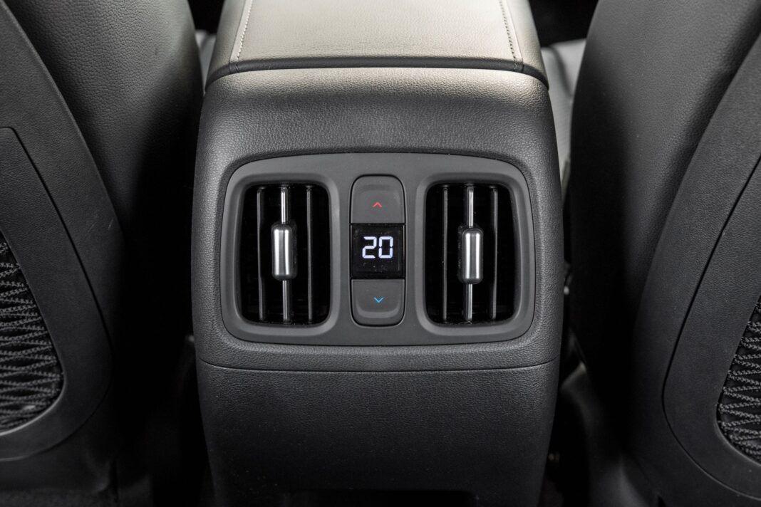 Hyundai Tucson 1.6 T-GDI HEV - nawiewy z tylu