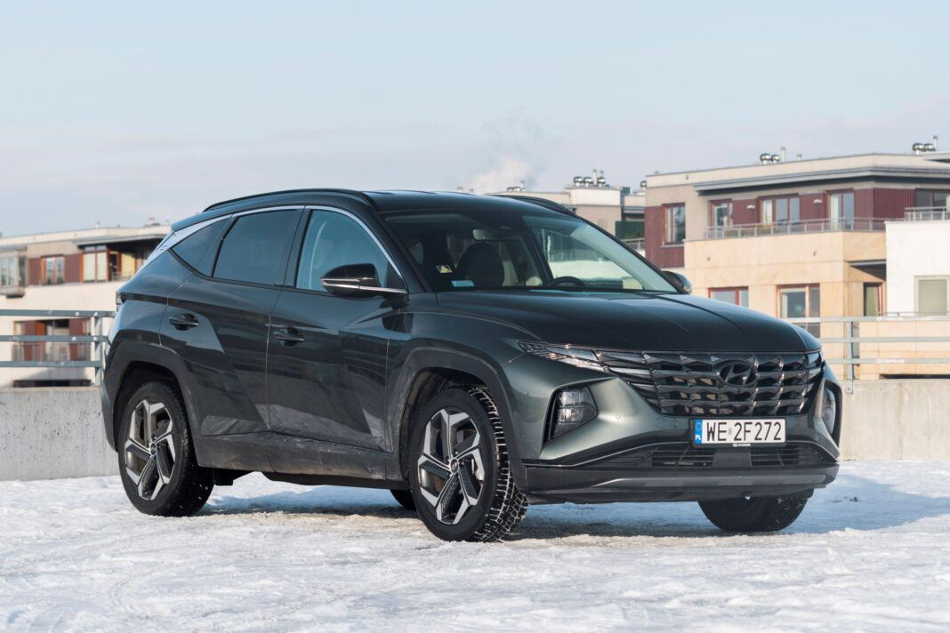Hyundai Tucson 1.6 T-GDI HEV - prawy przód