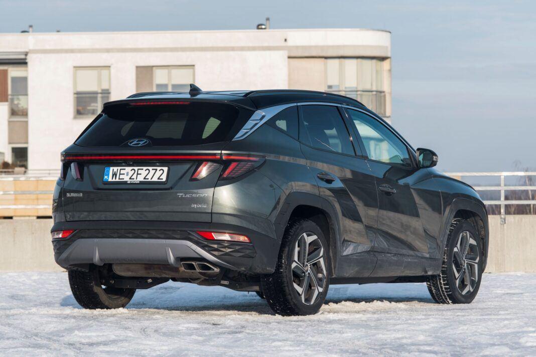 Hyundai Tucson 1.6 T-GDI HEV - prawy tył