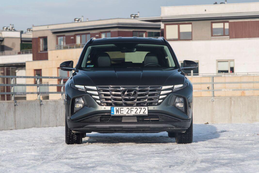Hyundai Tucson 1.6 T-GDI HEV - przód