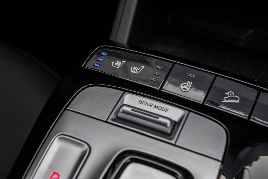 Hyundai Tucson 1.6 T-GDI HEV - przyciski