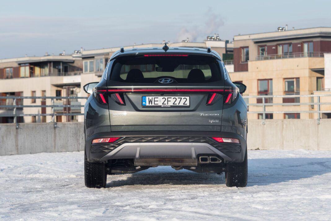 Hyundai Tucson 1.6 T-GDI HEV - tył