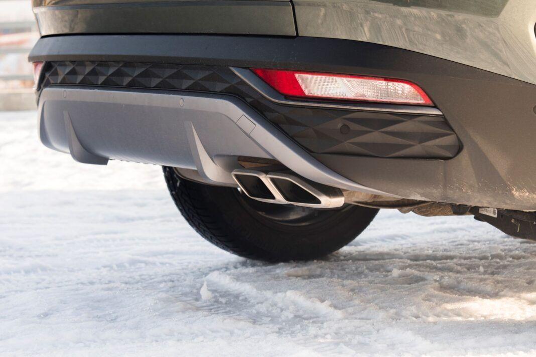 Hyundai Tucson 1.6 T-GDI HEV - wydech