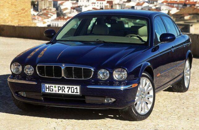 Jaguar XJ przed liftingiem (X350; 2003-2007)