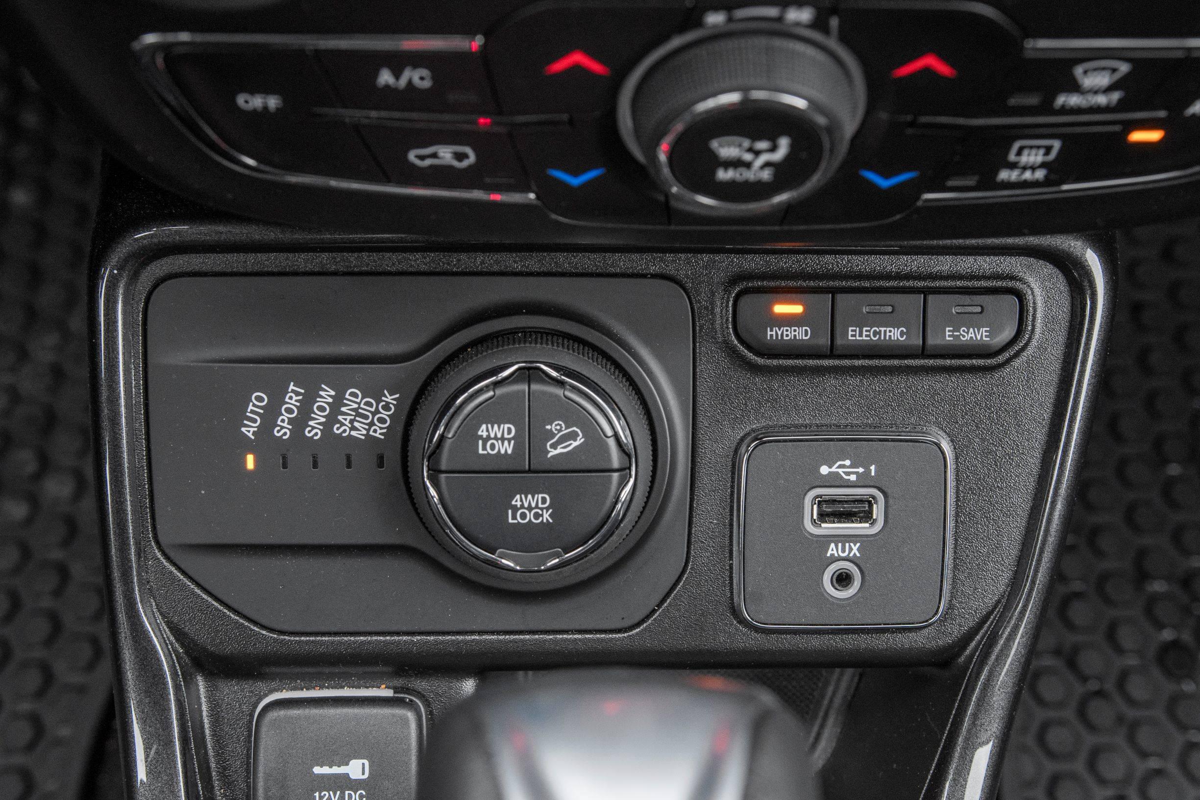 Jeep Compass - tryby napędu
