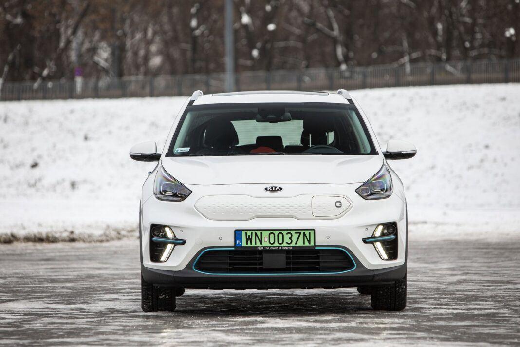 Kia e-Niro 64 kWh - test (2021) - przód