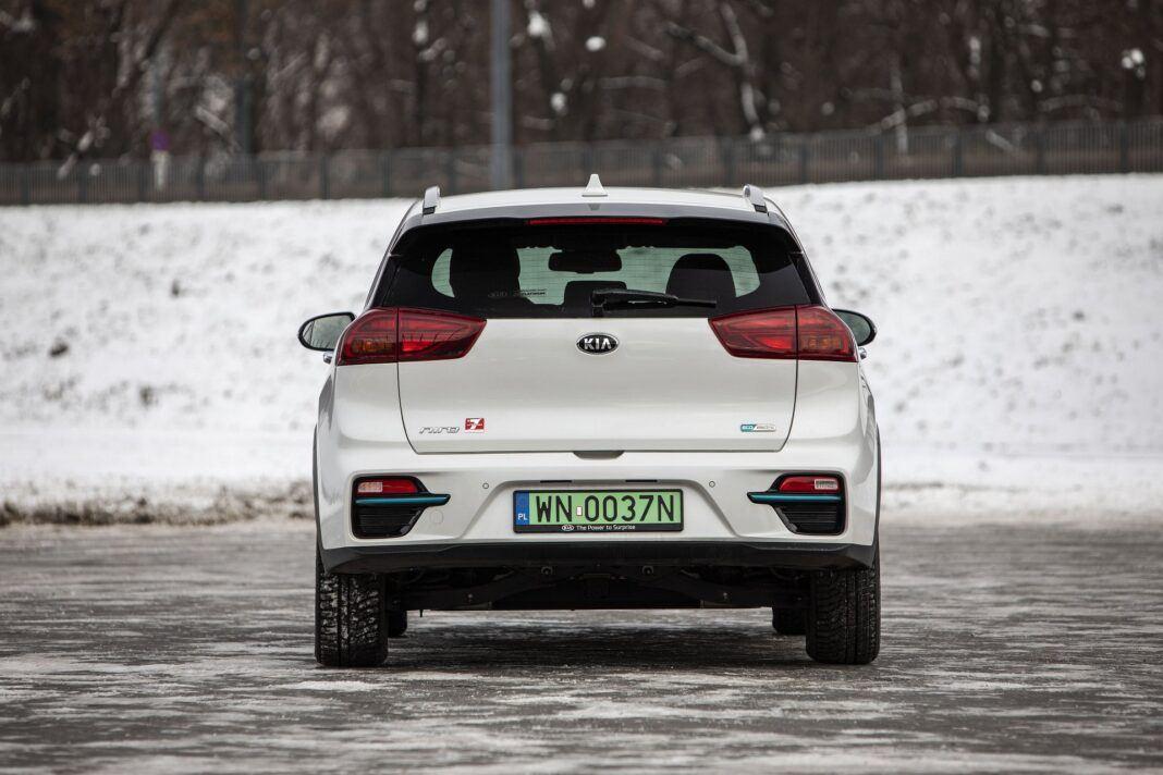 Kia e-Niro 64 kWh - test (2021) - tył