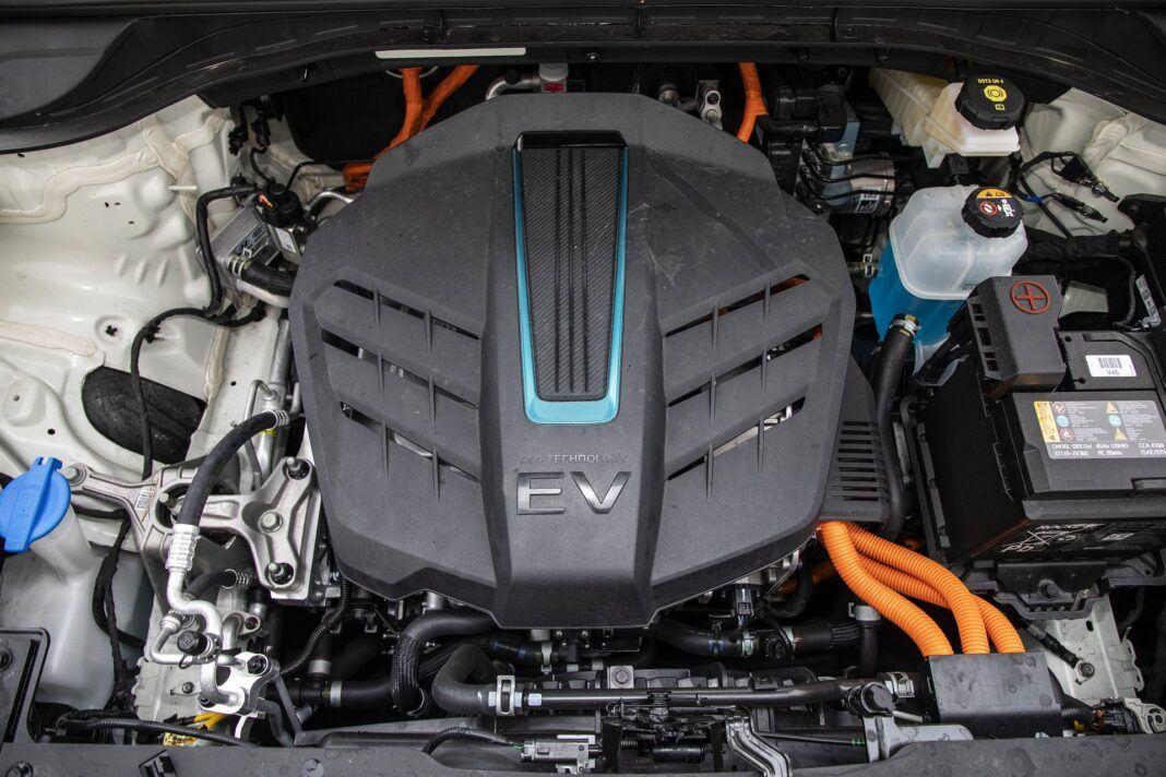 Kia e-Niro 64 kWh - test (2021) - silnik