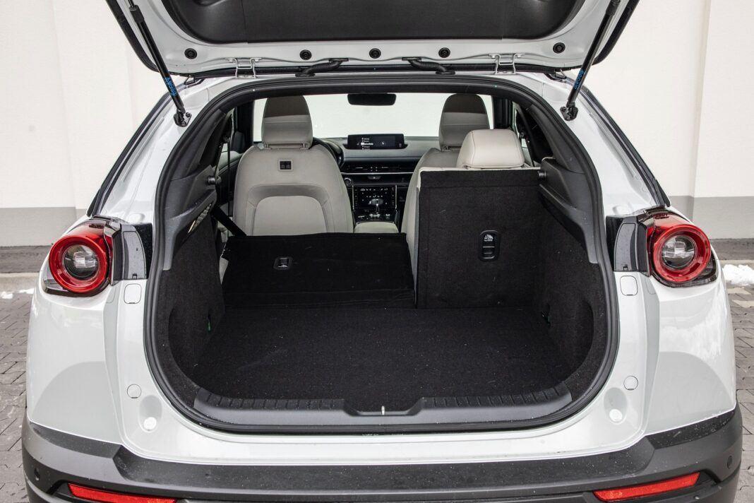 Mazda MX-30 - test (2021) - bagażnik