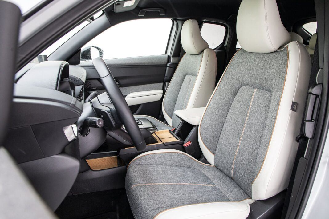 Mazda MX-30 - test (2021) - fotele