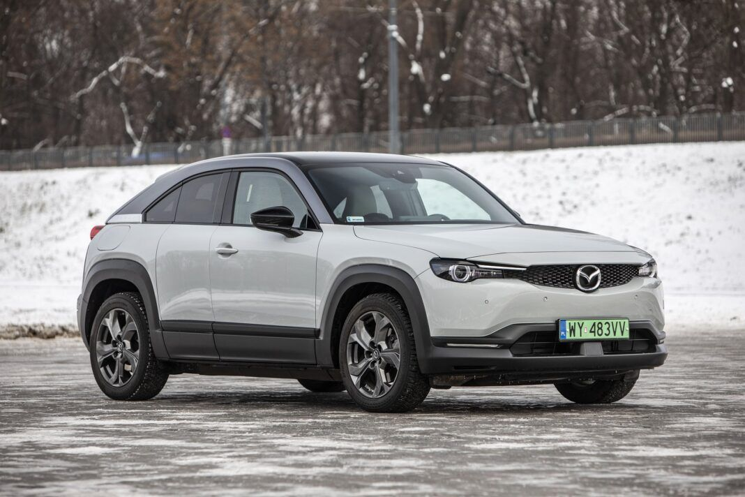 Mazda MX-30 - test (2021) - przód