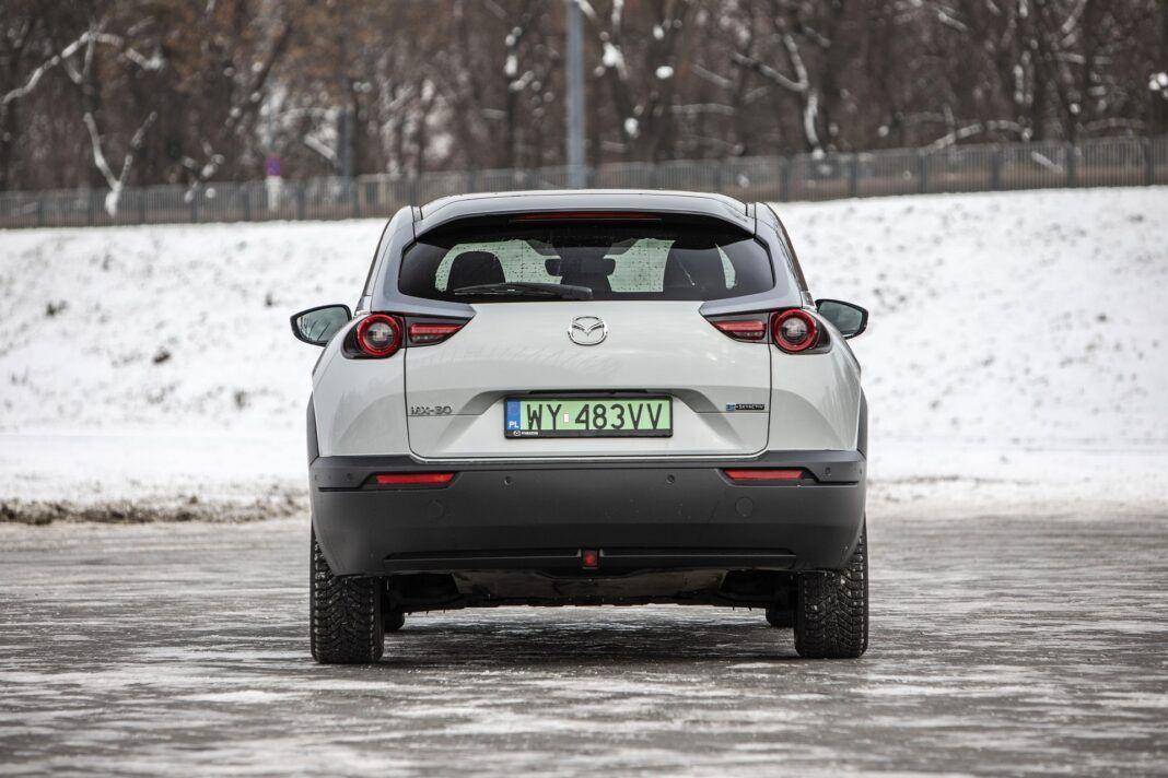 Mazda MX-30 - test (2021) - tył
