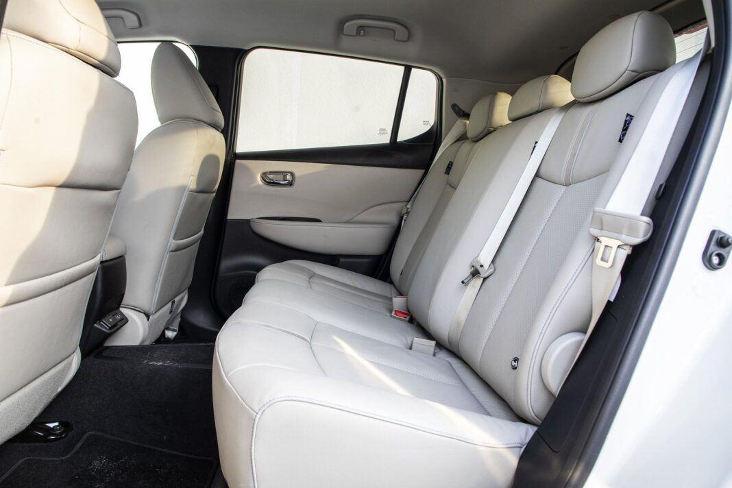 Nissan Leaf 62 kWh - test (2021) - kanapa