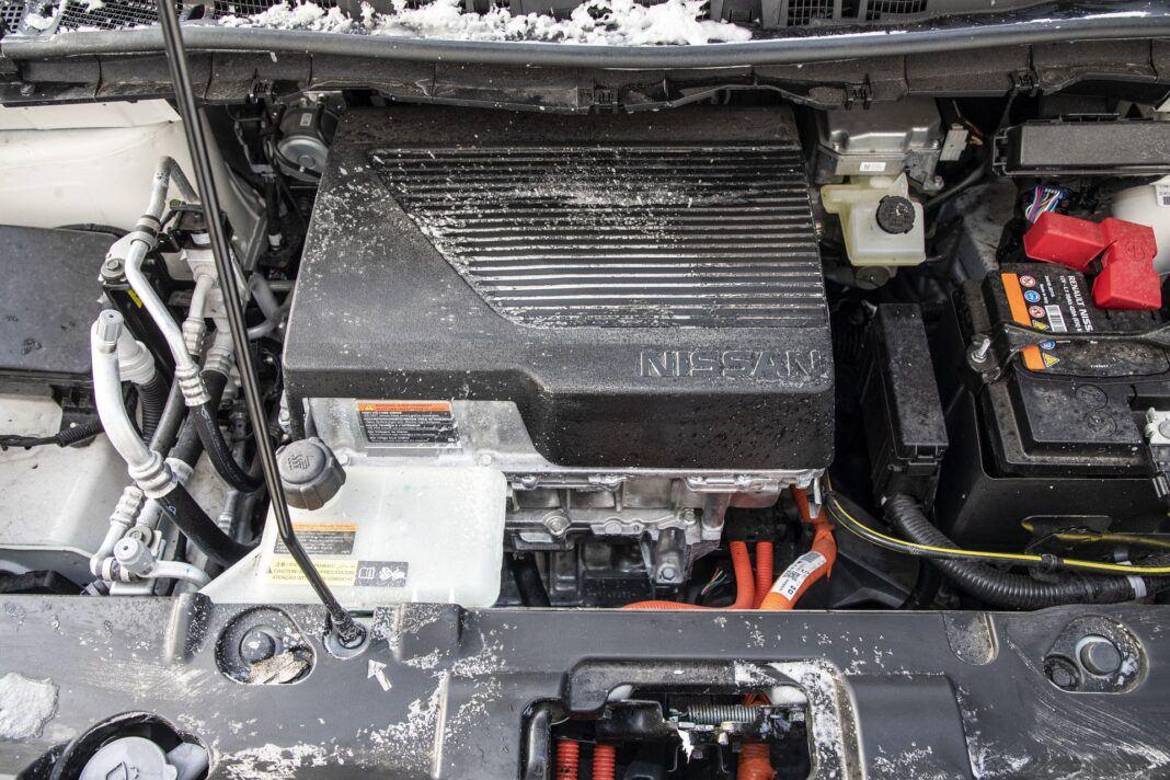 Nissan Leaf 62 kWh - test (2021) - silnik