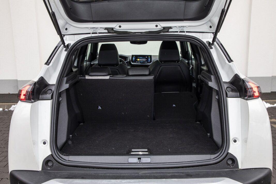 Peugeot e-2008 - test (2021) - bagażnik