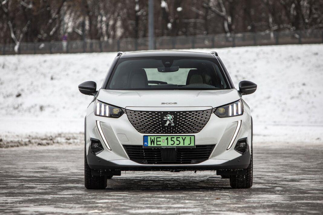 Peugeot e-2008 - test (2021) - przód