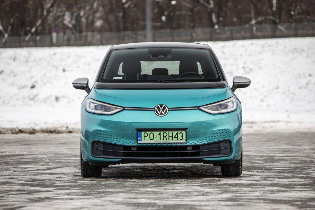 Volkswagen ID.3 Pro Performance - test (2021) - przód