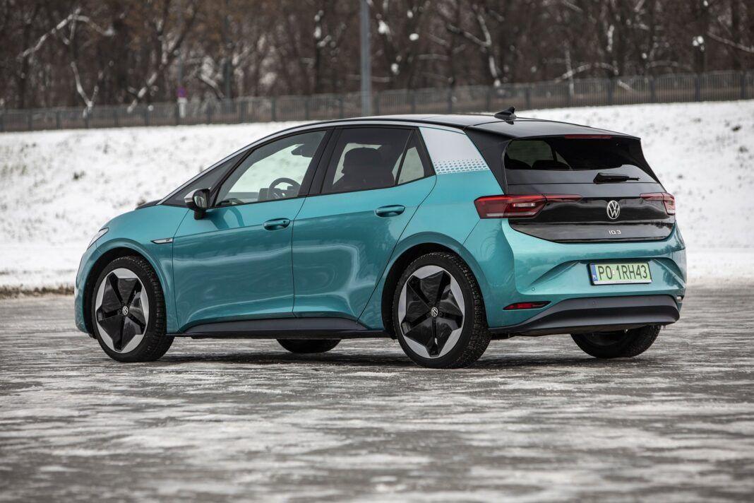 Volkswagen ID.3 Pro Performance - test (2021) - tył
