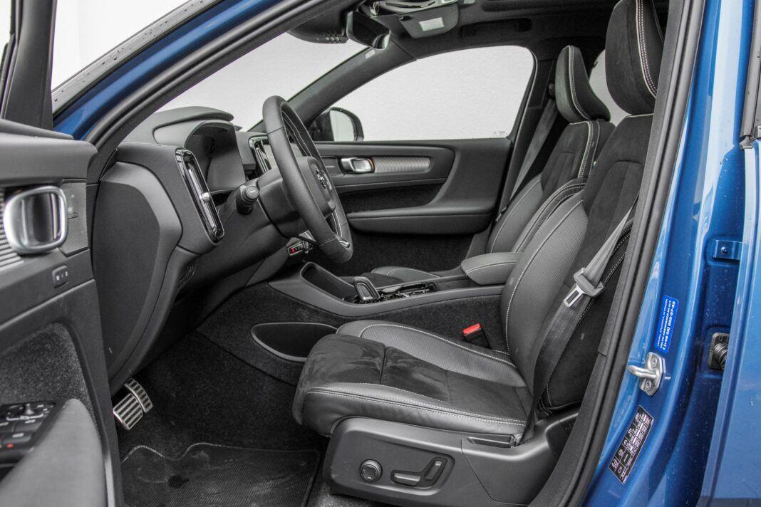 Volvo XC40 - fotele