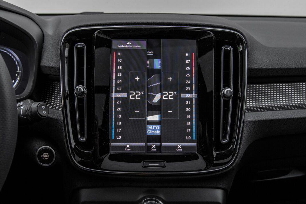 Volvo XC40 - klimatyzacja
