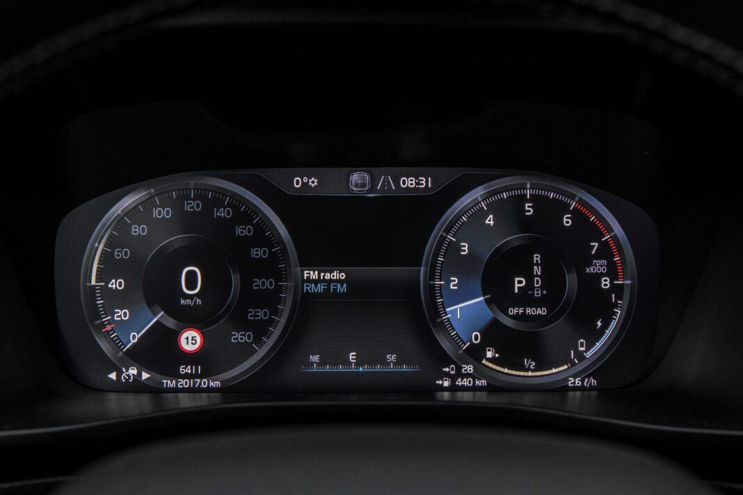 Volvo XC40 - zegary